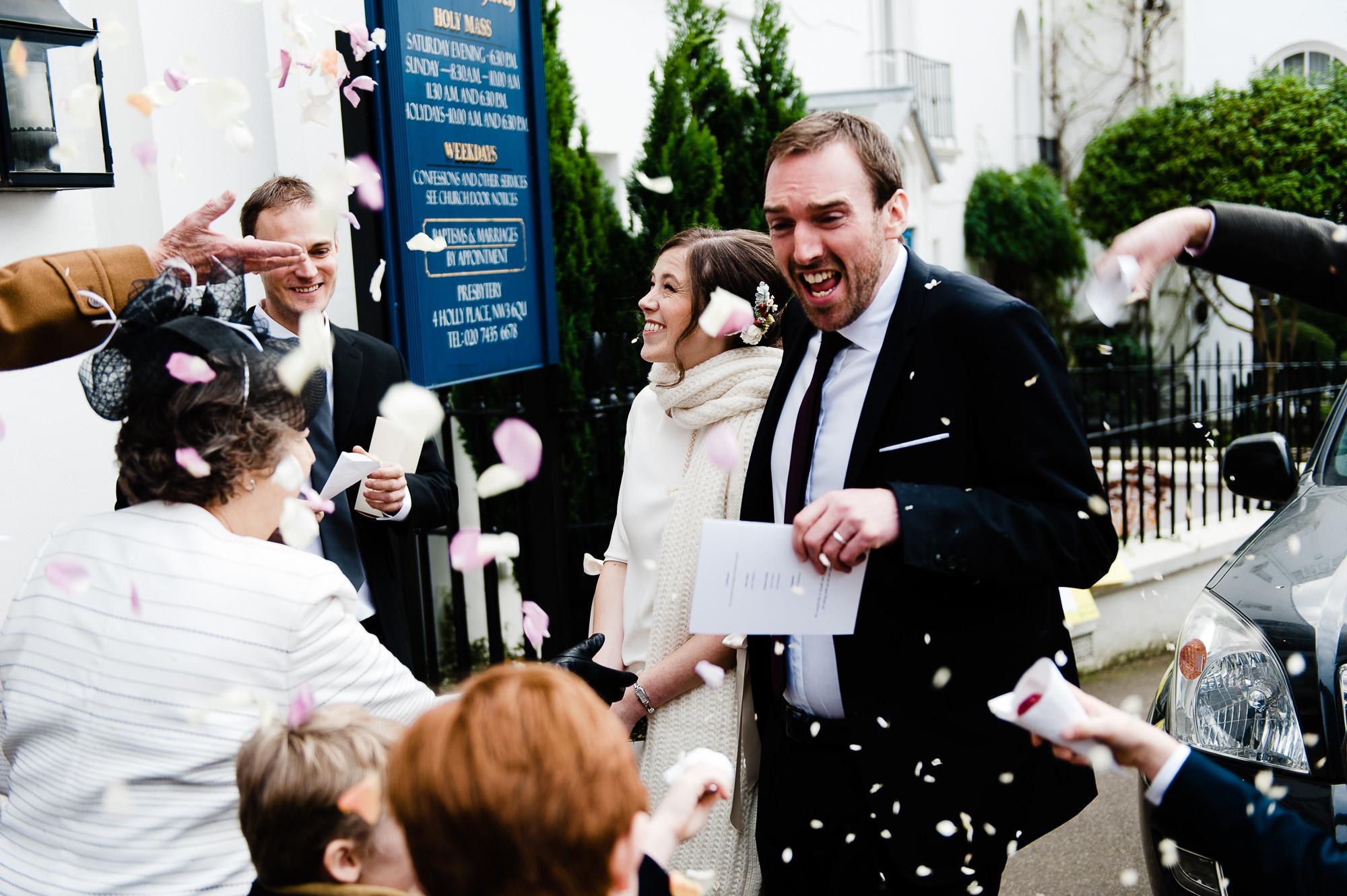 St. Mary's Hampstead wedding photos