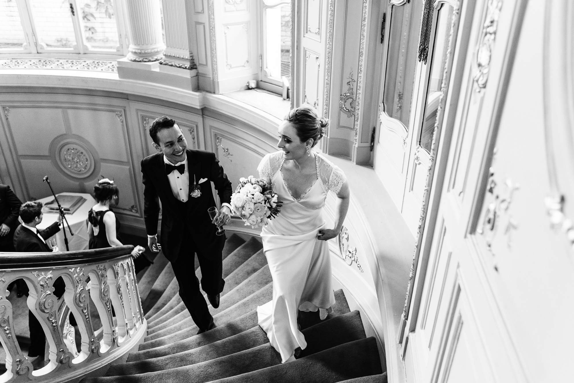 Private members club wedding
