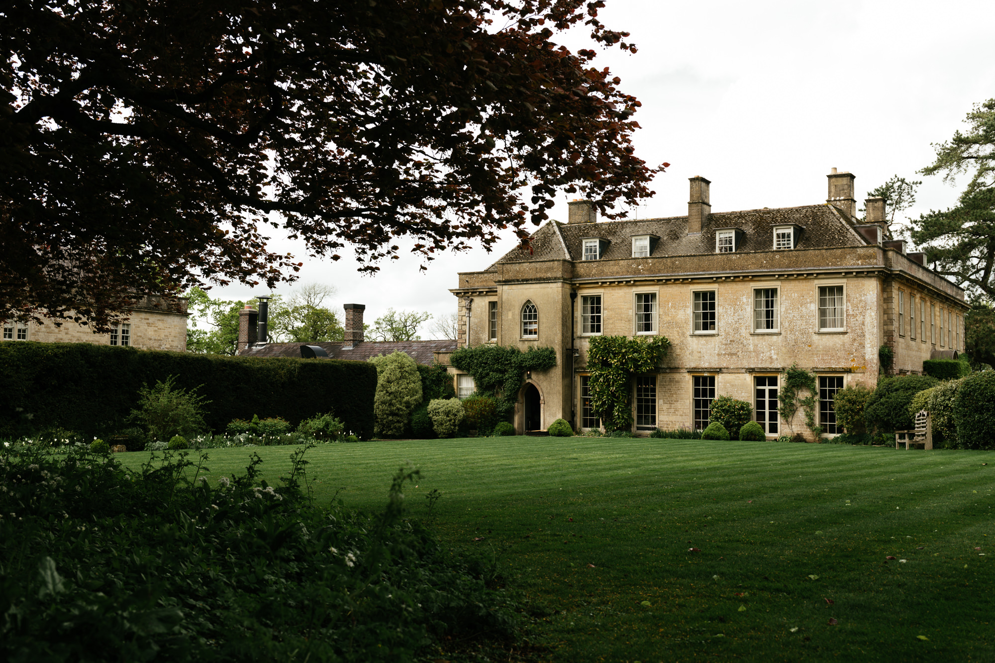 Wedding Photography at Babington House