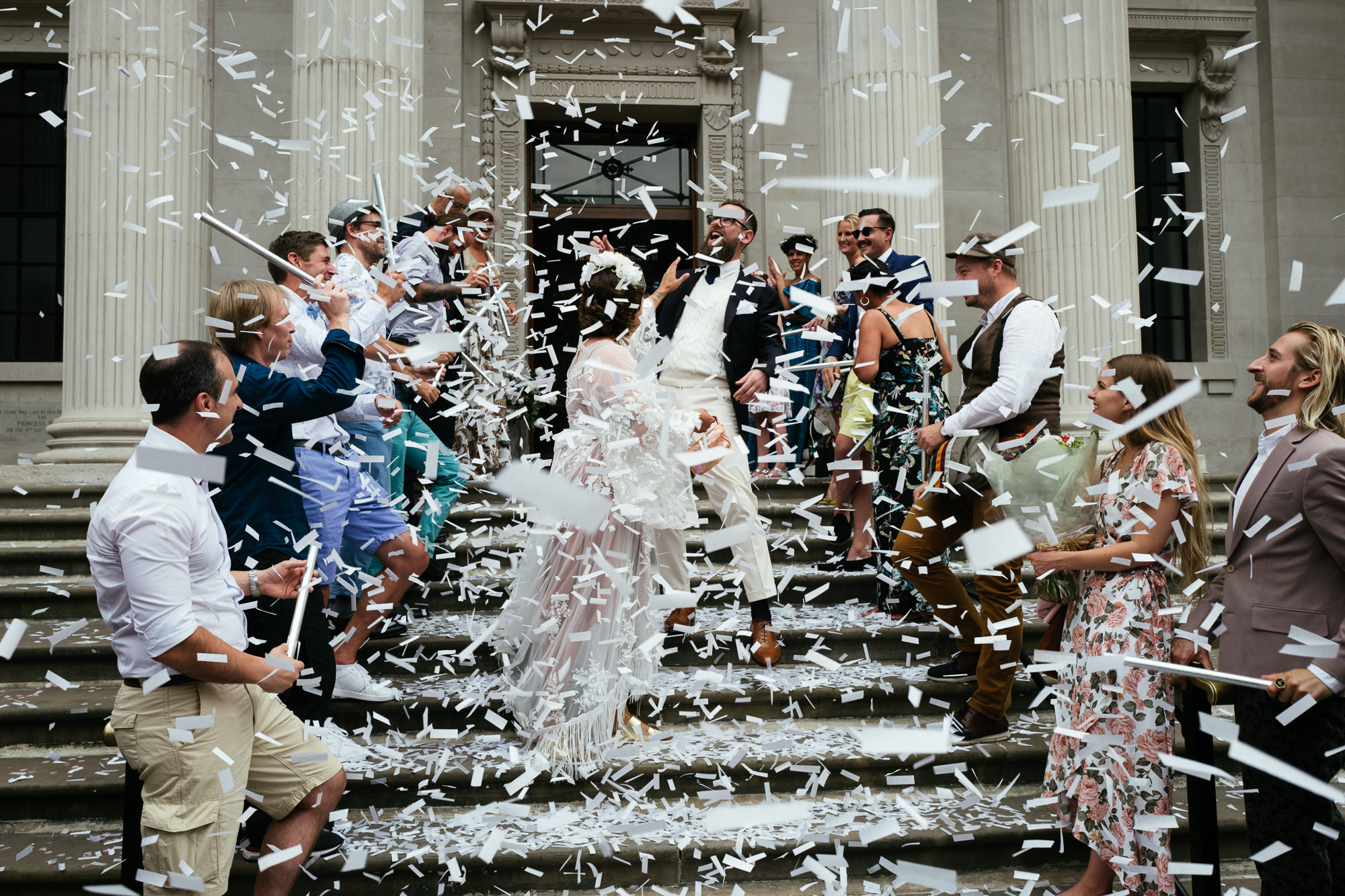 wedding at marylebone town hall