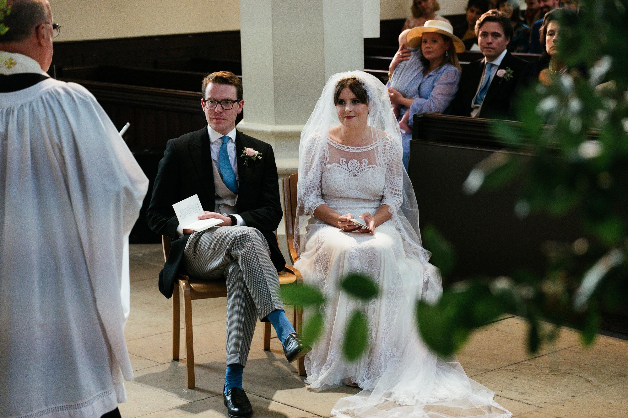 St Michael's church wedding